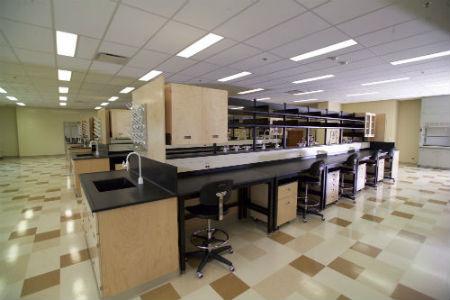 medical laboratory design casework